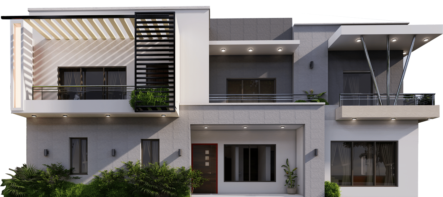 Cosgrove real estate Abuja Nigeria - 7 bedroom gated villa